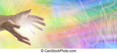 kolor, website, chorągiew, gojenie