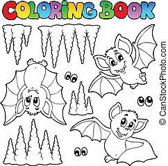 kolorowanie, gacki, książka