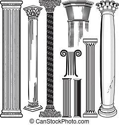 kolumna, zbiór