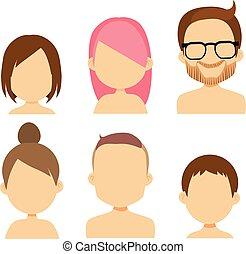 komplet, avatar, ludzie