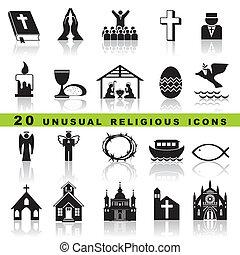 komplet, chrześcijanin, ikony
