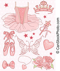 komplet, księżna, balerina