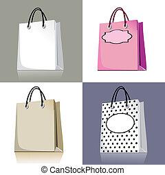 komplet, mnóstwo, zakupy