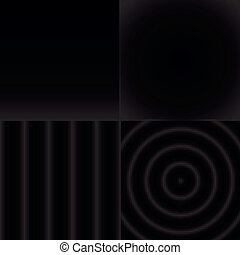 komplet, próbka, abstrakcyjny, seamless, czarnoskóry, biały