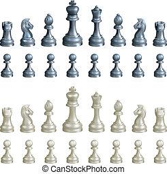 komplet, szachowe kawały