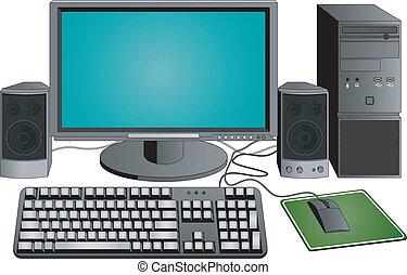 komputer, komplet