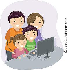 komputer, rodzina