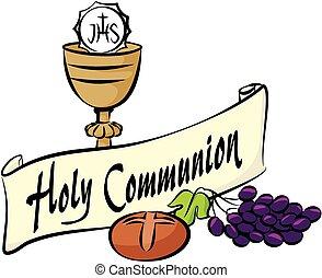 komunia, święty