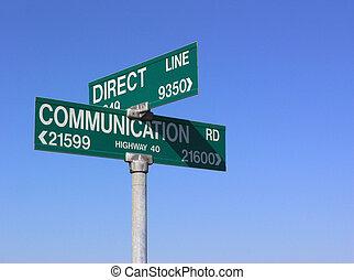 komunikacja, bezpośredni