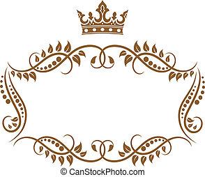 korona budowa, królewski, średniowieczny, elegancki