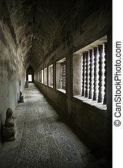 korytarz, angkor