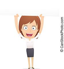 korzystać, dyrektor, dialogs, characters., inny, dziewczyna, suitable