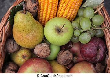 kosz, owoc