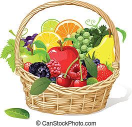 kosz owocu