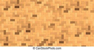 kosz, tło., bambusowa robota tkacka, struktura