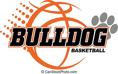 koszykówka, buldog, projektować