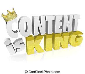 król, beletrystyka, gadka, zacytować, korona, wartość, zadowolenie, online, 3d