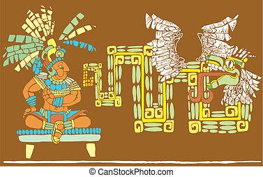 król, kukulcan, mayan