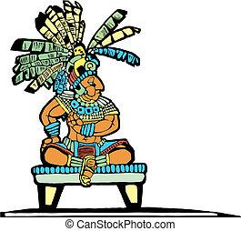 król, mayan, #2