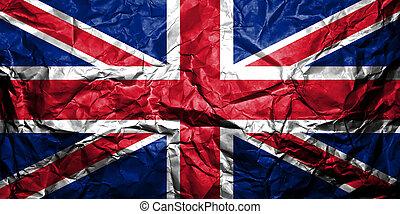 królestwo, flag., zjednoczony