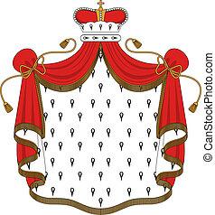królewski, płaszcz