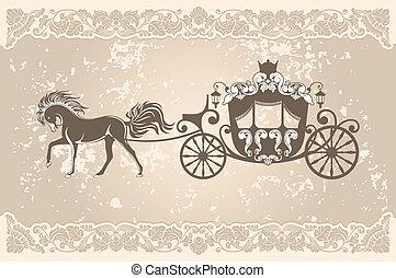 królewski, wóz