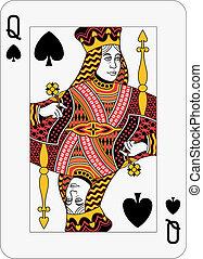 królowa, łopata