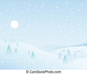kraina cudów, zima