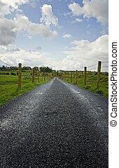 krajobraz, irlandia