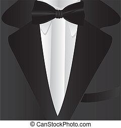 krawat, formalny, garnitur