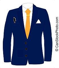 krawat, garnitur