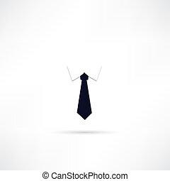 krawat, ikona