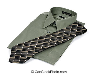 krawat, koszula, handlowy