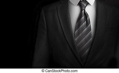 krawat, szary dostosowują