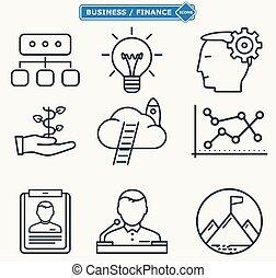 kreska, praca, ludzie, towarzystwo, workforce, kierownictwo, proces, handlowe ikony, seminarium, trening