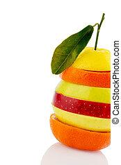 kromki, verschiedne, owoce