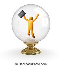 kryształowa piłka, -, handlowy, powodzenie