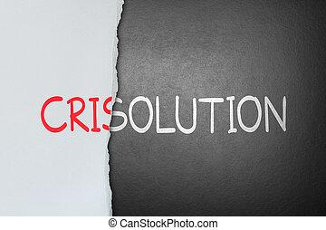 kryzys, rozłączenie