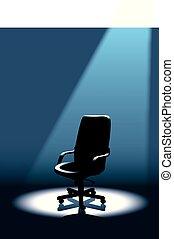 krzesło, opróżniać