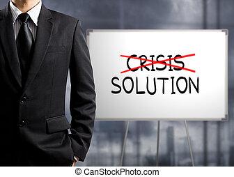 krzyż, kryzys, rozłączenie, znaleźć
