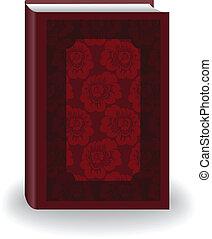 książka, czerwony