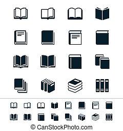 książka, ikony