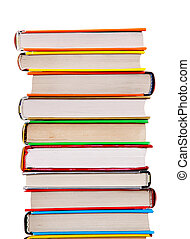 książki, stos