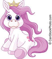 księżna, koń, sprytny