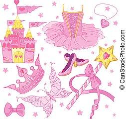 księżna, komplet, balerina