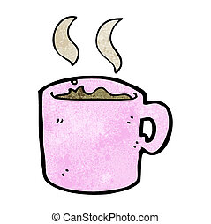 kubek, kawa, rysunek