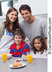 kuchnia, rodzina, szczęśliwy