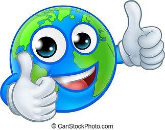 kula, świat, maskotka, litera, rysunek, ziemia