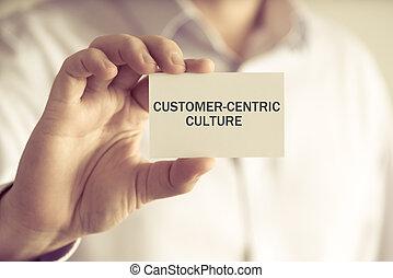 kultura, dzierżawa, biznesmen, wiadomość, customer-centric, karta