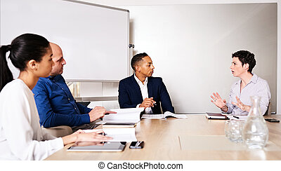 kulturalny, handlowy, antreprenerzy, profesjonalny, rozmaity, 4, między, racially, spotkanie